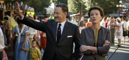 Tom Hanks sebagai Walt Disney dan Emma Thompson sebagai P.L. Travers